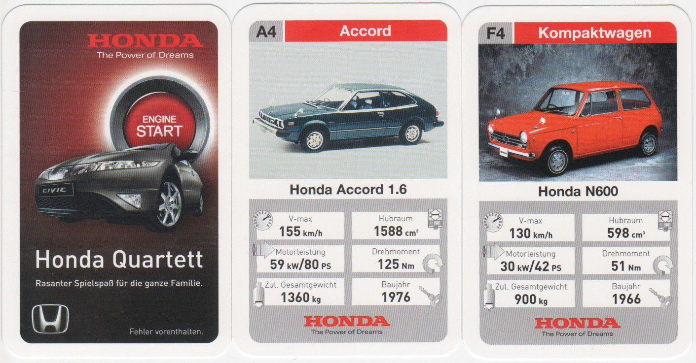 Honda-Quartett