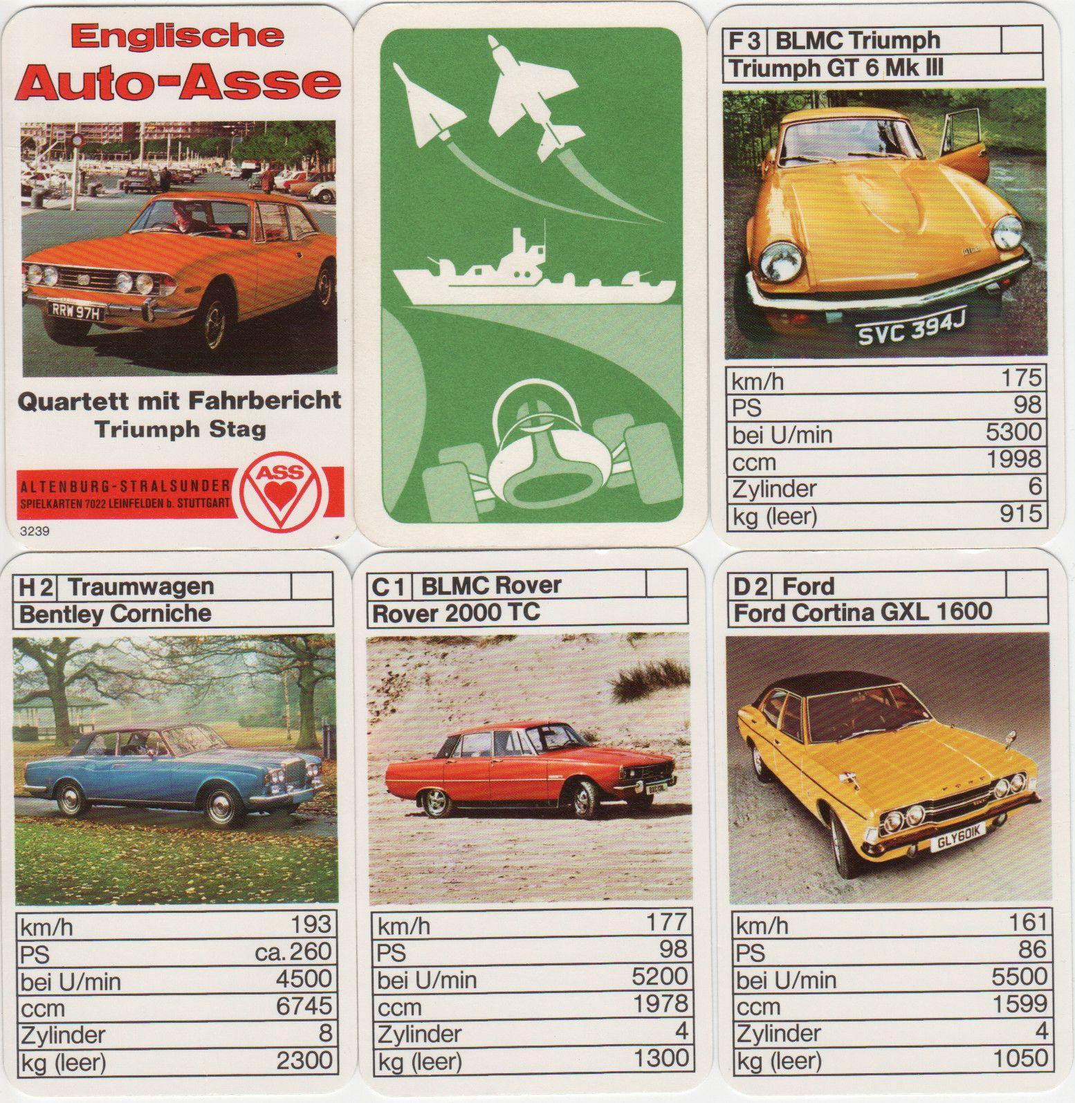 B. Austin Maxi, Ford Cortina,