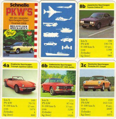 Sportwagen-Quartett, Opel Manta, Toyota Celica, 70er-Jahre