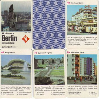 Berlin-Quartett Westberlin Touris Kudamm