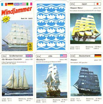fx-58822_Windjammer_Gorch_Fock_Bounty_Segelschiffsquartett