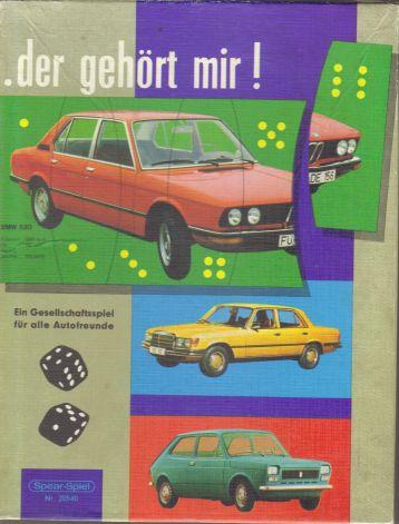 """Das Auto-Lege-Spiel von Spear und Söhne heißt """"Der gehört mir!"""" und enthält 12 Autopuzzles"""