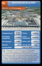Der Berliner Pannenflughafen BER im Flughafen-Quartett
