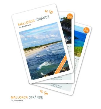 Das Mallorca-Kartenspiel zeigt die schönsten Strände der Balearen-Insel, von Playa de Palma bis Cala Figuera