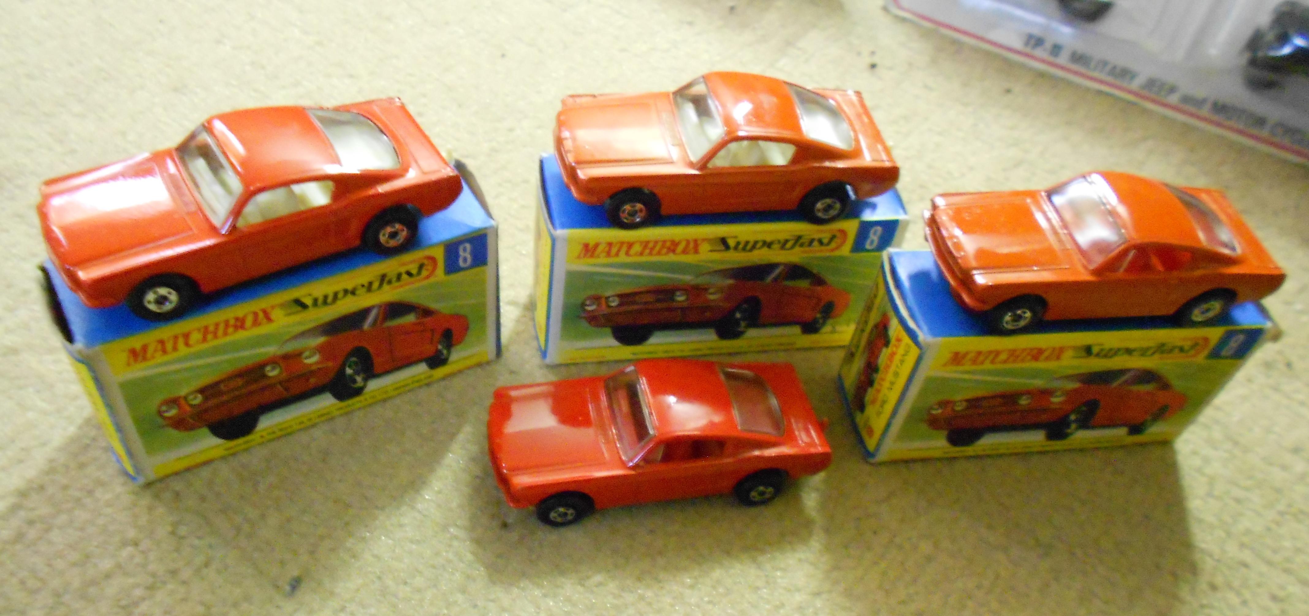Quartettblog-Special: Die Superfast-Cars im Matchbox-Quartett von Piatnik