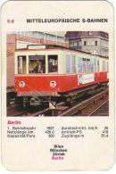 Bei dem Technik-Quartettspiel U-Bahnen S-Bahnen von Piatnik gibt es einen Fehler, die Hamburger S-Bahn ist hier als Berliner S-Bahn bezeichnet.