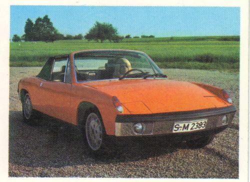 Der Quartettblog-Header zeigt den VW-Porsche 914/6 vom FX Schmid Quartett 52522 Sportwagen.