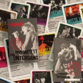 Das Quartett zum Untergang ist das 3. Punk-Quartett von Kerresinhio und behandelt Deutschpunk und Hardcore, etwa Tote Hosen und Beatsteaks.