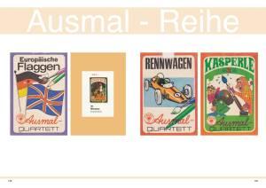 Die Ausmal-Quartette von Altenburg-Stralsunder Spielkarten im ASS-Katalog