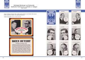 Auch Schwarzer-Peter-Spiele und Quartette für Erwachsene mit Bonner Politikern wie Helmut Schmid und Franz-Josef-Strauß sind im Quartettkatalog beschrieben