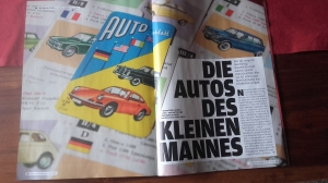 """Autobild Klassik 1 """"65 Jahre Autoquartett"""" mit dem Titel Die Autos des kleinen Mannes"""