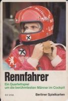 Zum Berliner Spielkarten Rennfahrer-Quartett gibt es eine Deckblatt-Alternative