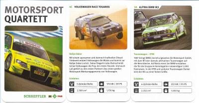 Das Motorsport-Quartett des Autozulieferers Schaeffler