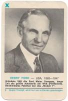 "Piatnik-Supertrumpfkarte ""Henry Ford"""